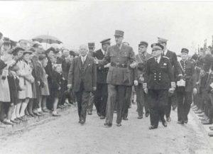 Genéral de Gaulle in Isigny sur Mer