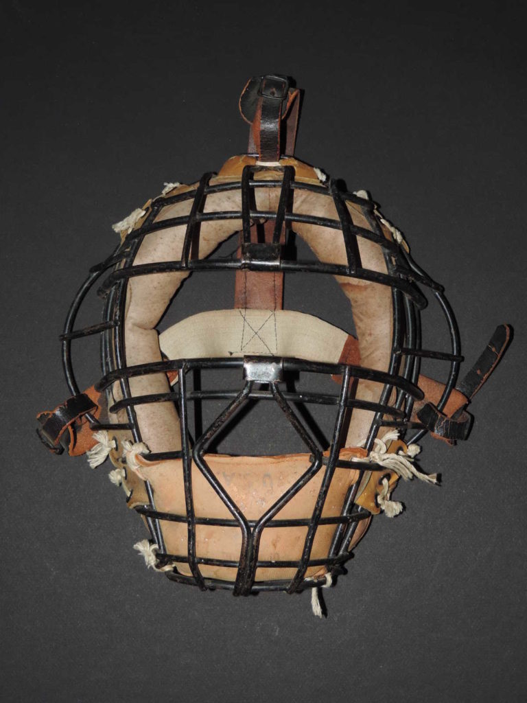 Baseball, masque receveur willson