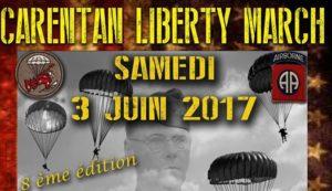 Carentan Liberty March 2017