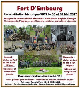 Reconstitution historique du Fort d'Embourg