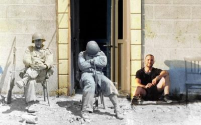 Des Glidermen dans Carentan (50)