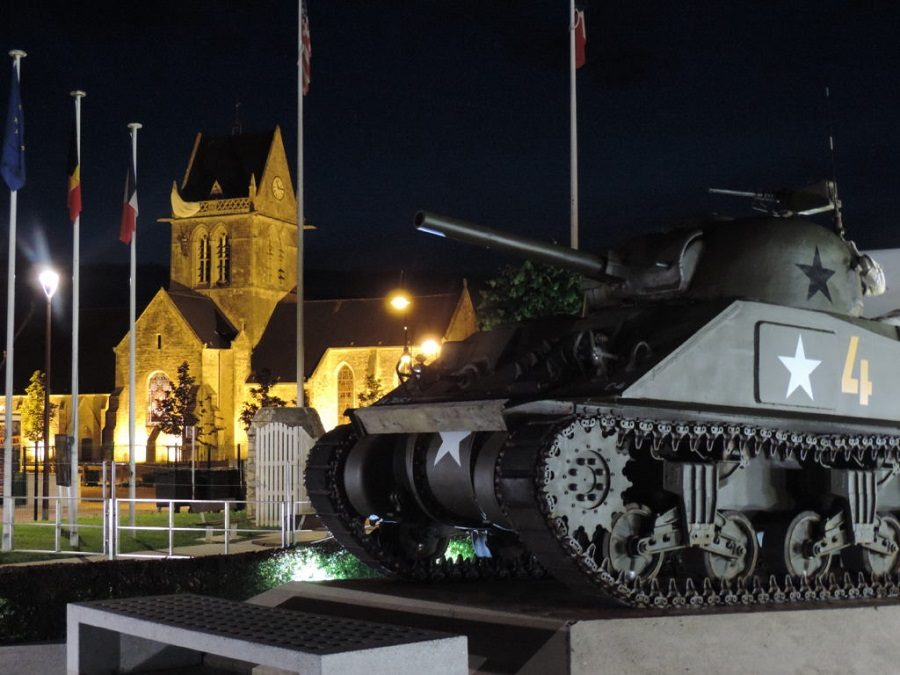 A night at the Airborne Museum